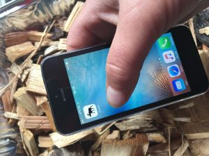 E-land omrekenapp houtige biomassa op de mobiel